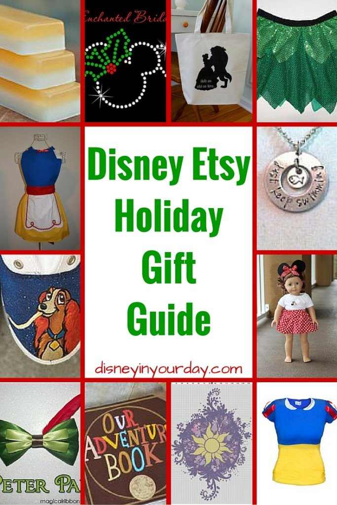 Disney Etsy Holiday Gift Guide - Disney in your Day