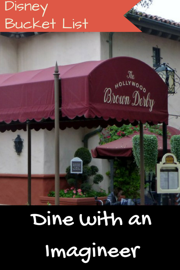 Dine with an Imagineer - Disney in your day