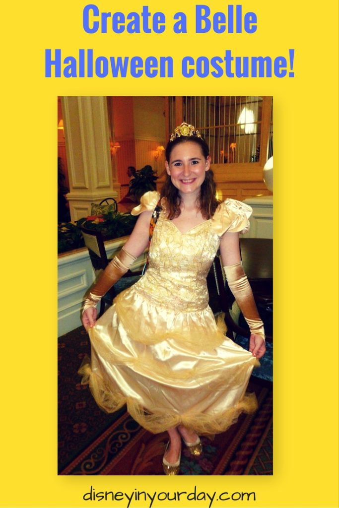sc 1 st  Disney in your Day & Make your own Belle Halloween costume - Disney in your Day