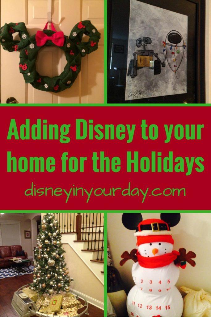 Wonderful Disney Christmas Party Ideas Part - 11: Adding Disney To Your Home For The Holidays! - Disney In Your Day