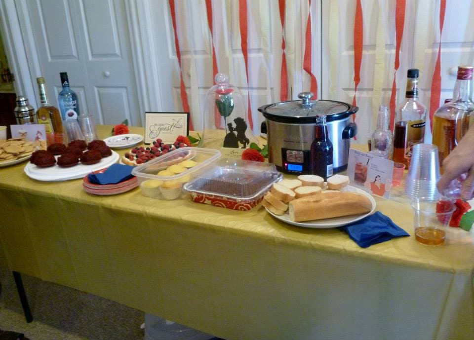 Beauty and the Beast party15