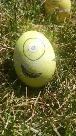 disney eggs mike