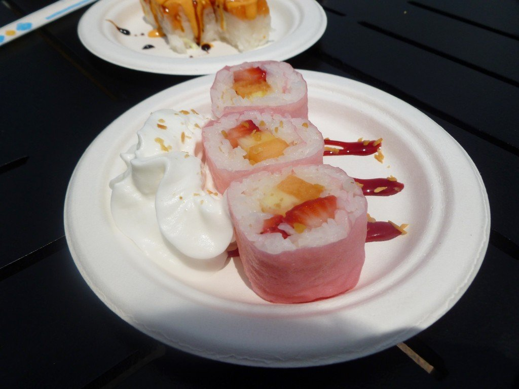 Best Flower and Garden Festival food and drinks - Frushi