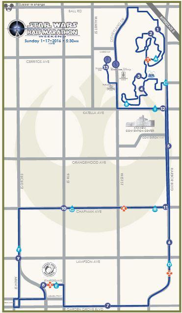 Running in Anaheim - Disney in your Day