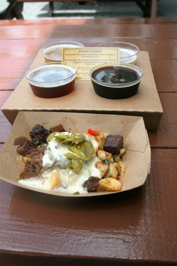 Epcot Flower and Garden food booths - Disney in your Day