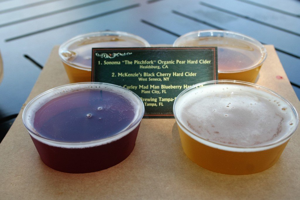 Epcot Flower and Garden food booths