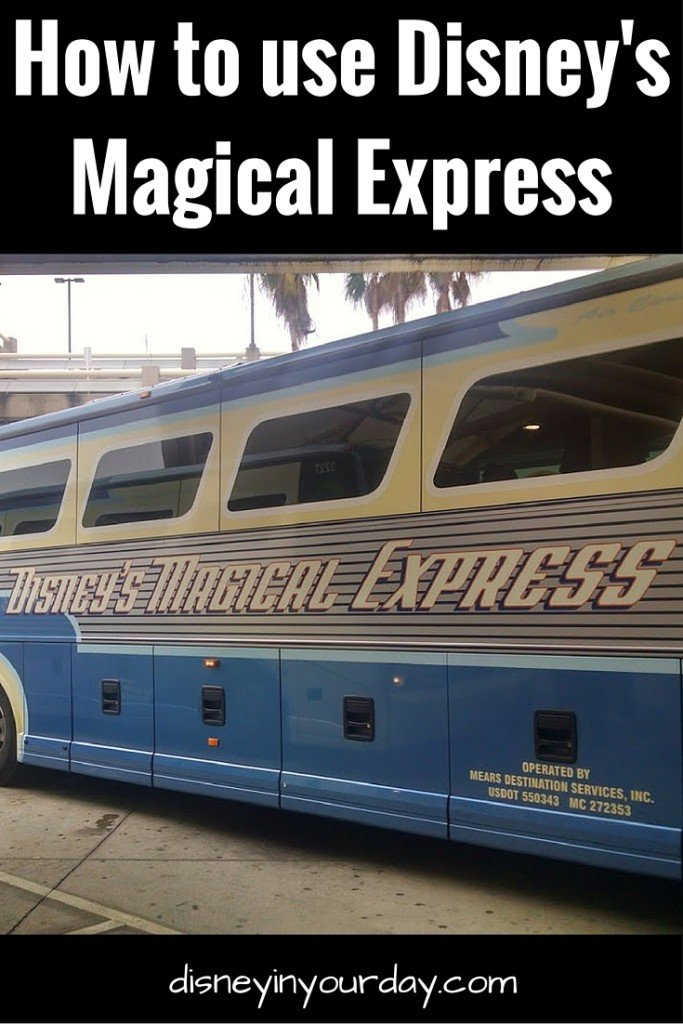 How to use Magical Express - Disney in your Day