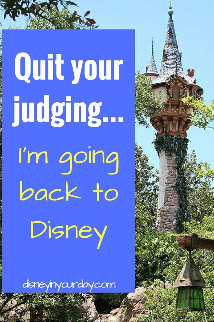 Quit your judging...