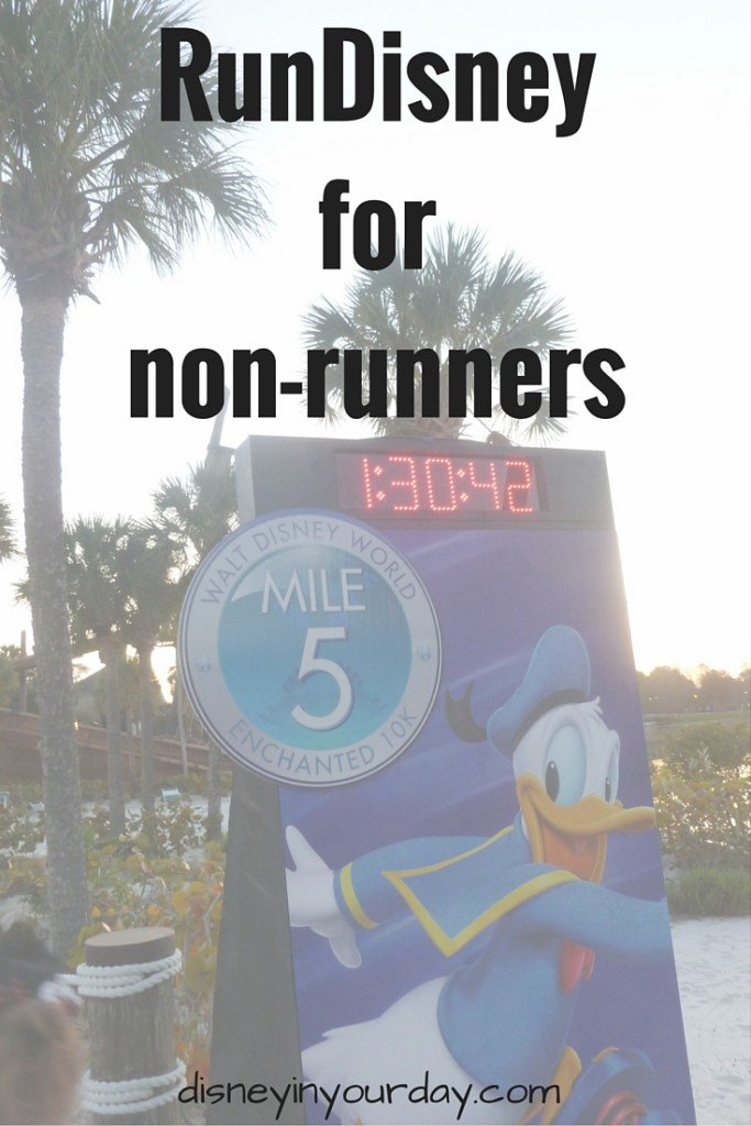 RunDisney for non-runners - Disney in your Day