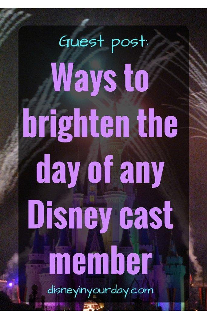 Ways to brighten the day of any Disney cast member