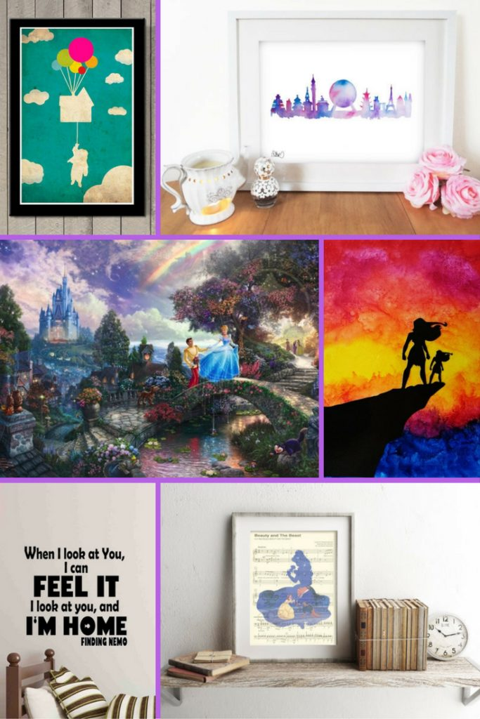 Unique gifts for Disney lovers - Disney art - Disney in your Day