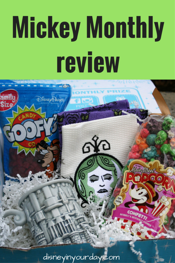 Mickey Monthly review - Disney in your Day