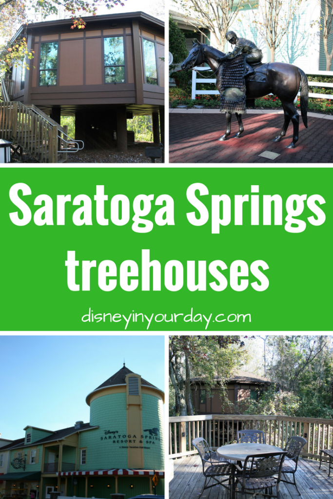 Saratoga Springs treehouses - Disney in your Day
