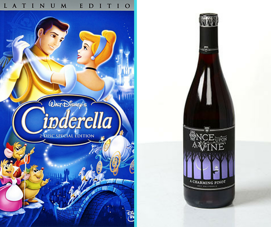 Disney movies and wine pairings - Disney in your Day