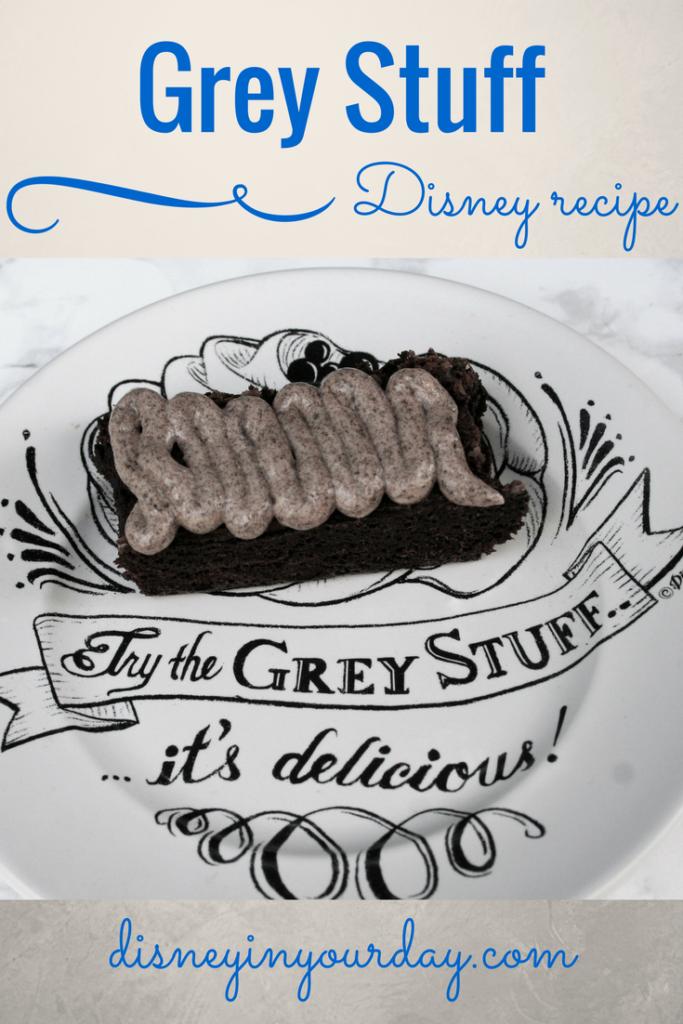 Grey stuff recipe - Disney in your Day