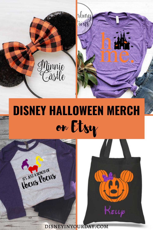 Disney Halloween merch - Disney in your Day