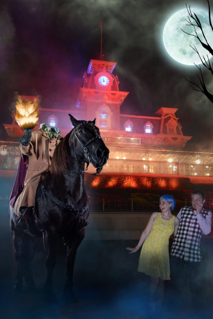 adults at Mickey's Not So Scary Halloween Party - Disney in your Day