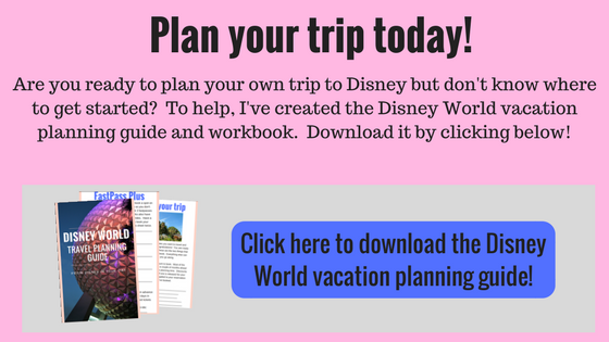 Disney World vacation planning guide - Disney in your day
