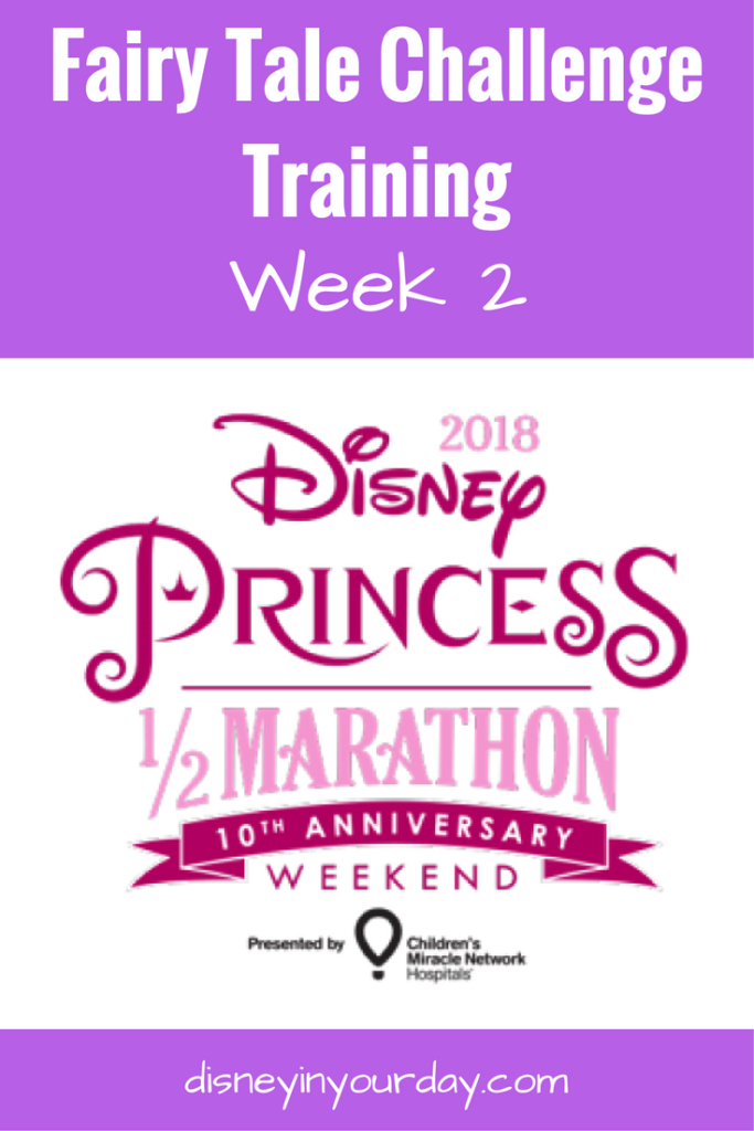 Fairy Tale Challenge training - Disney in your Day