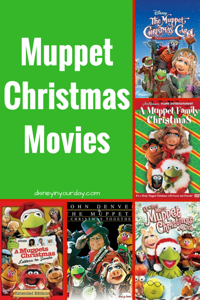 Muppet Christmas Movies - Disney in your Day