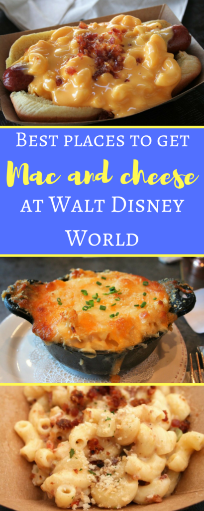 Mac and cheese at Disney World - Disney in your Day