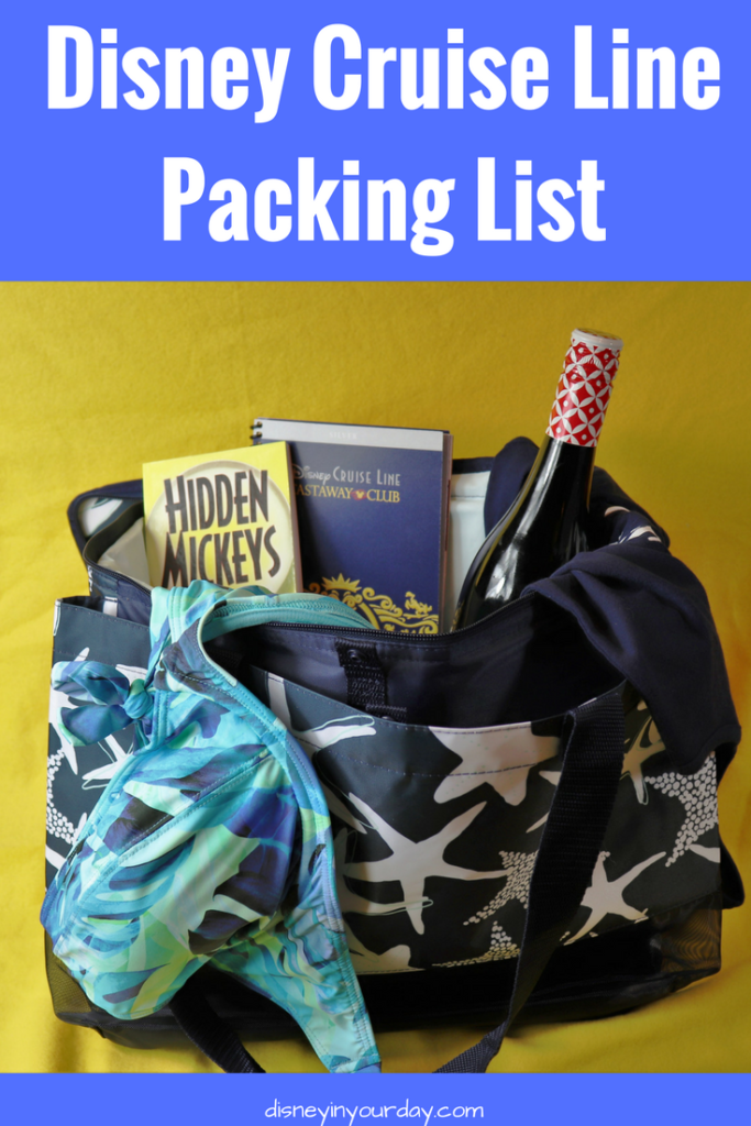 Disney Cruise Packing List - Disney in your Day