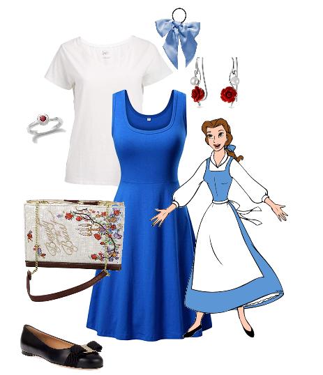 Belle Disney Bound - Disney in your Day