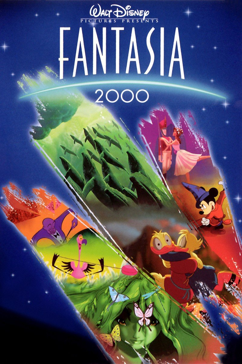 Fantasia 2000 1999 Movie Poster Disney In Your Day