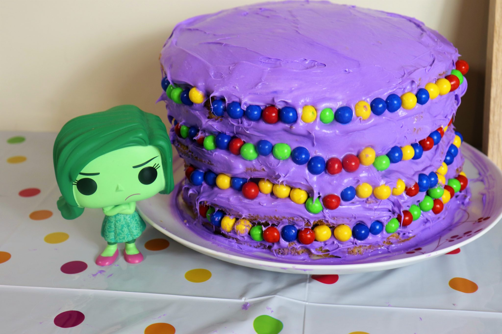 Inside Out cake - Disney in your Day