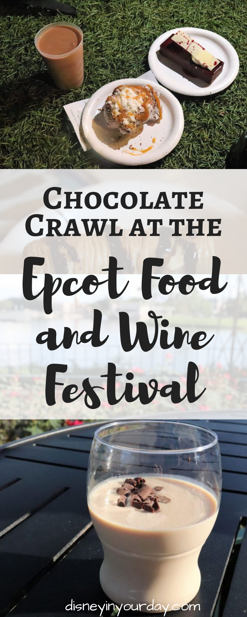 chocolate at Epcot Food and Wine - Disney in your Day