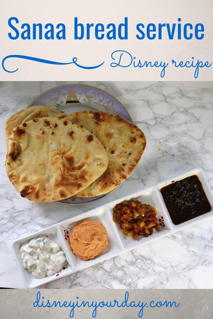 Sanaa bread service recipe - Disney in your Day