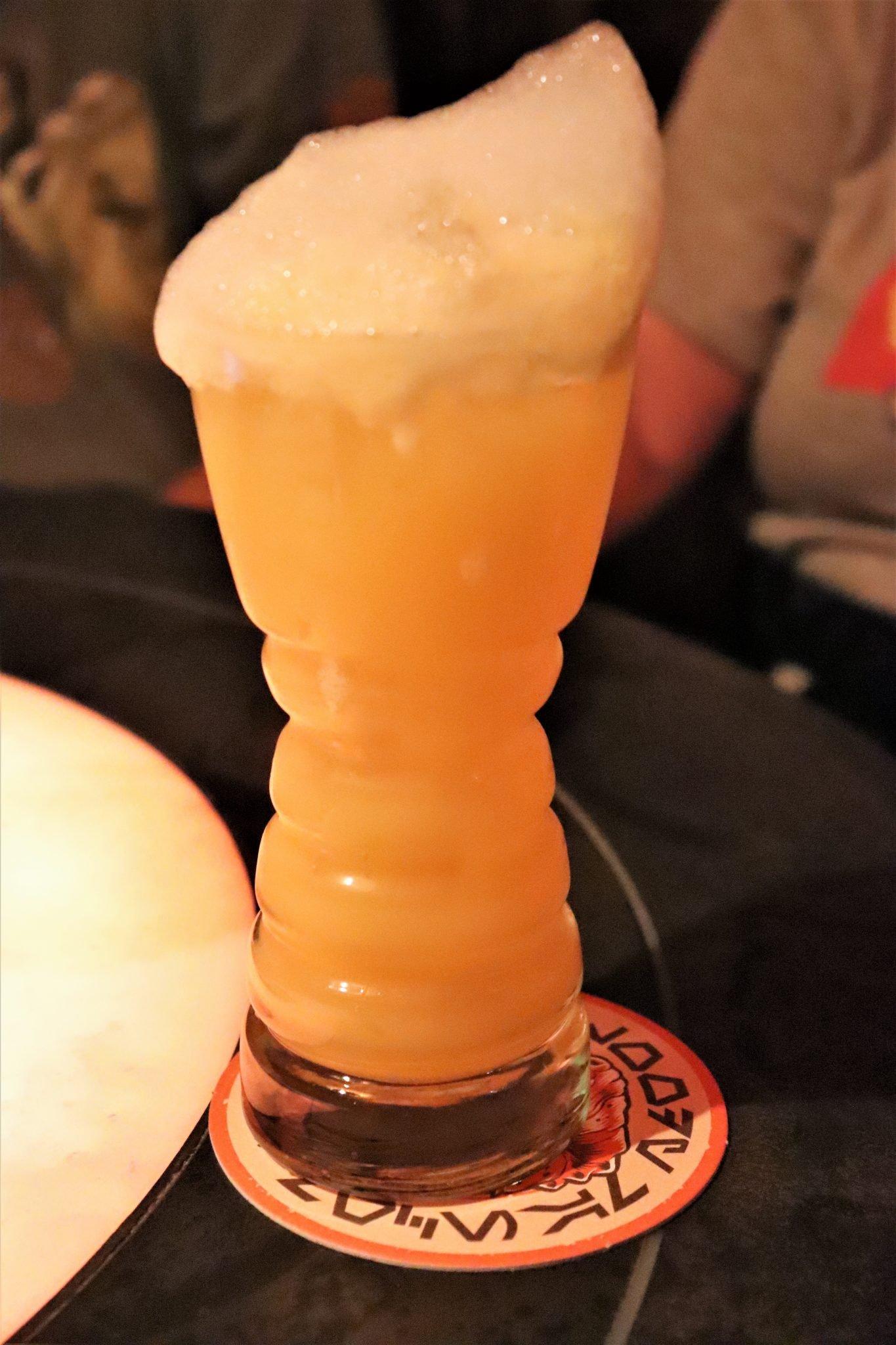 drinks at Oga's Cantina - Fuzzy Tauntaun