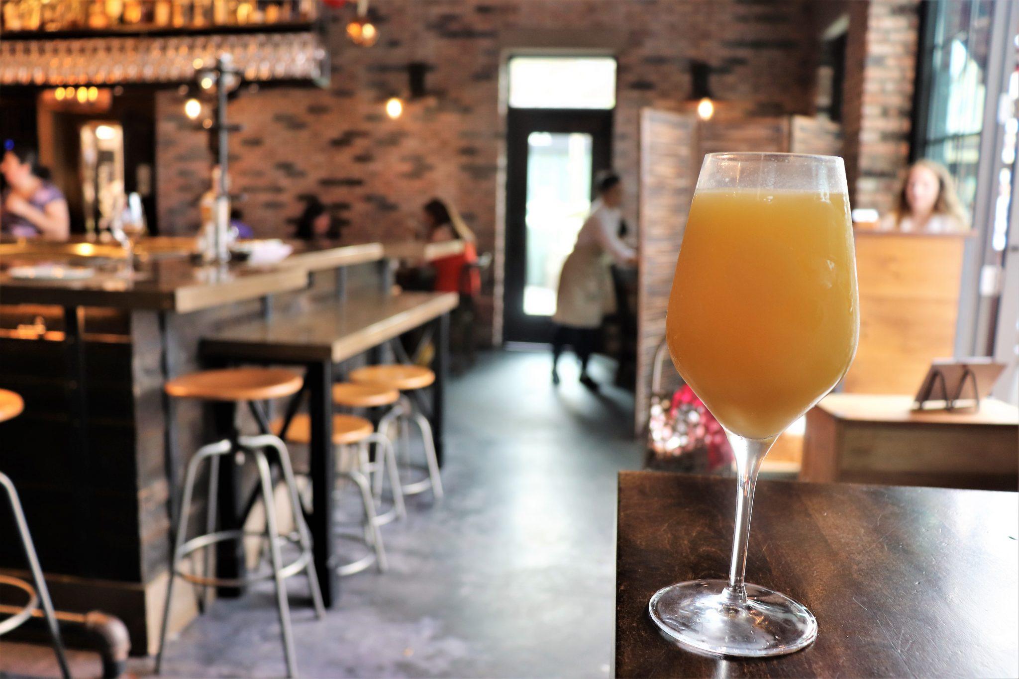 Wine Bar George brunch - Disney in your Day