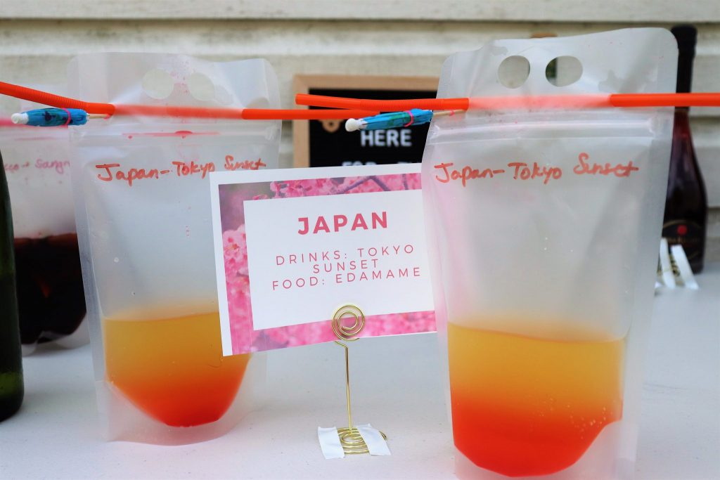 Tokyo sunset cocktail recipe - Disney in your Day