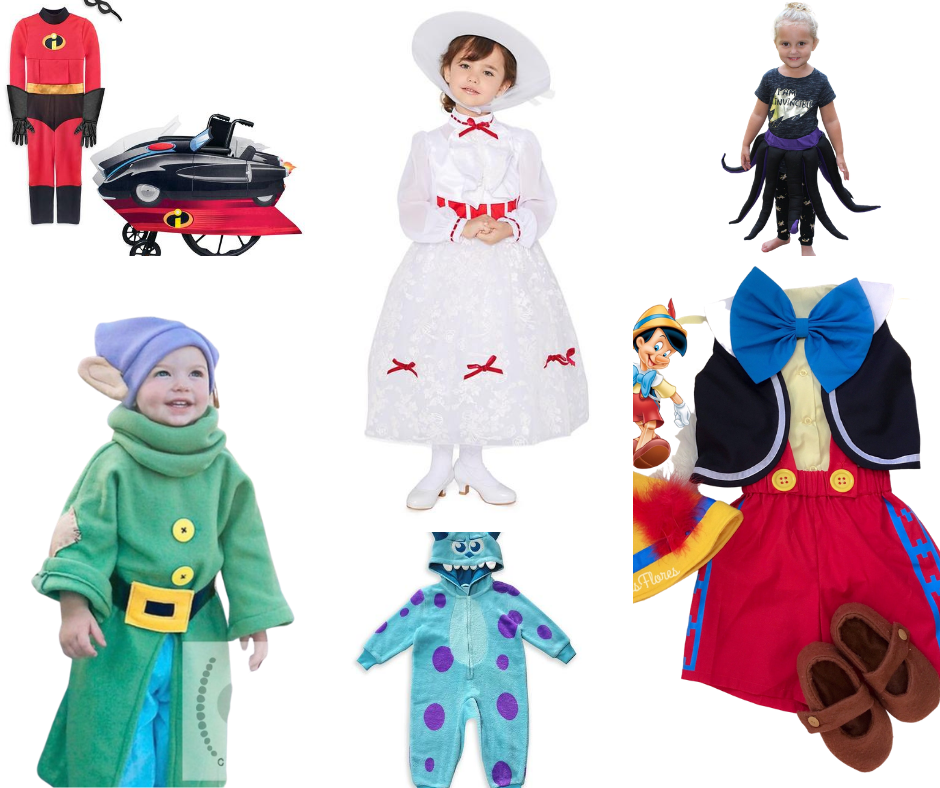 Disney Halloween costumes for babies and kids - Disney in your Day
