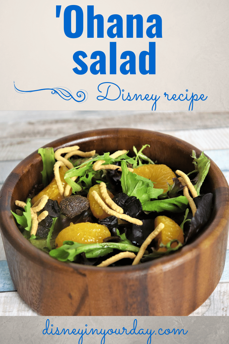 'Ohana salad recipe - Disney in your Day