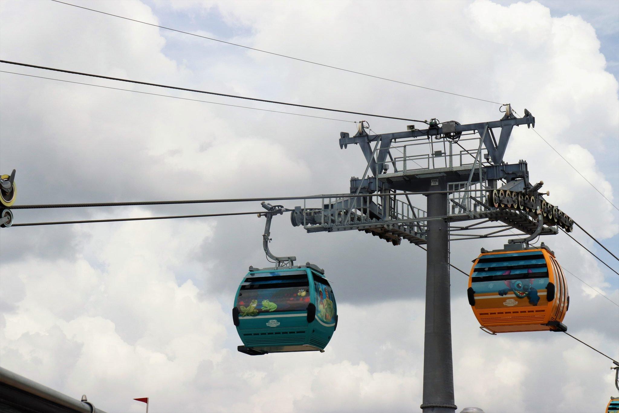 Disney transportation skyliner - Disney in your Day