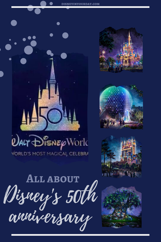 Disney World 50th Anniversary - Disney in your Day