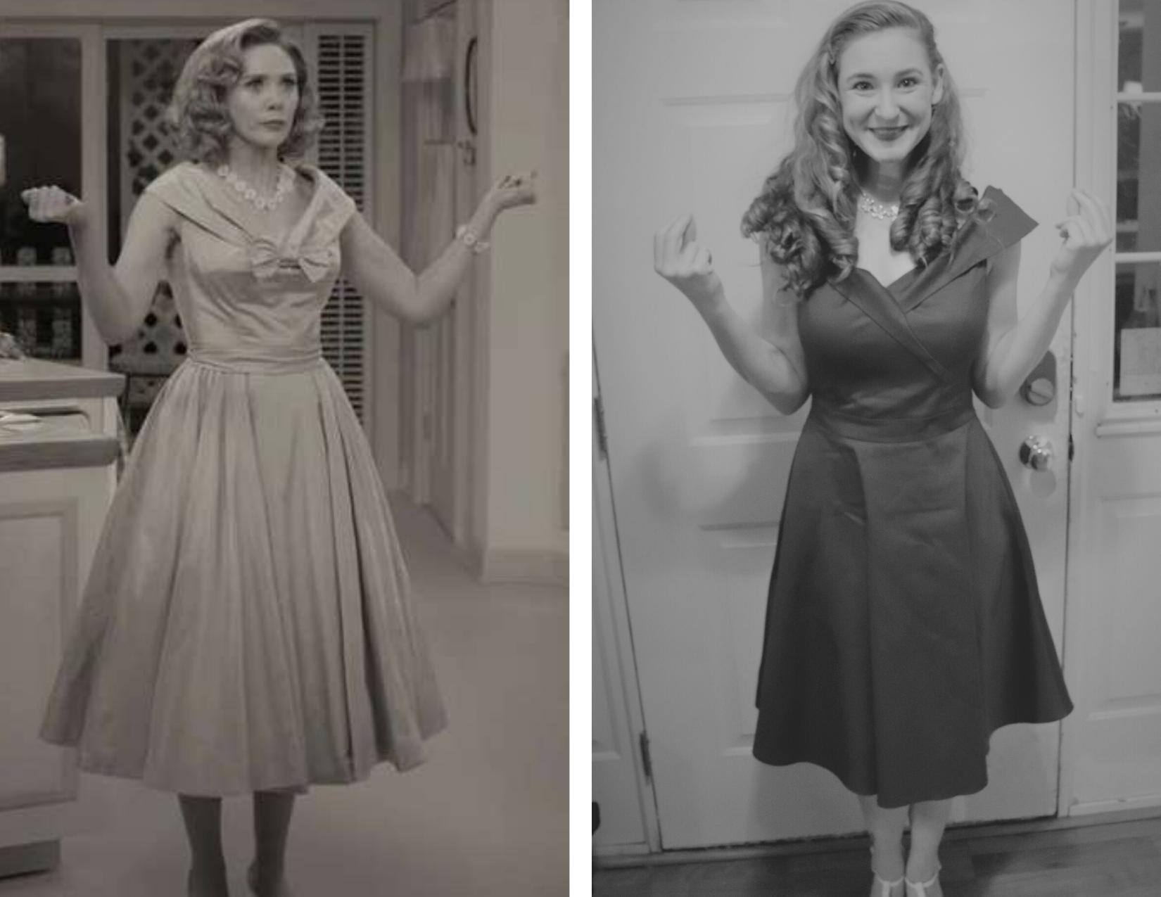 WandaVision disneybound 1950s - Disney in your Day