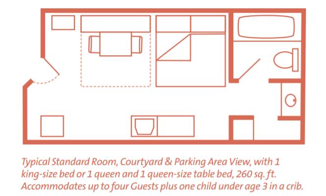 Disney's Pop Century floor plan - Disney in your Day