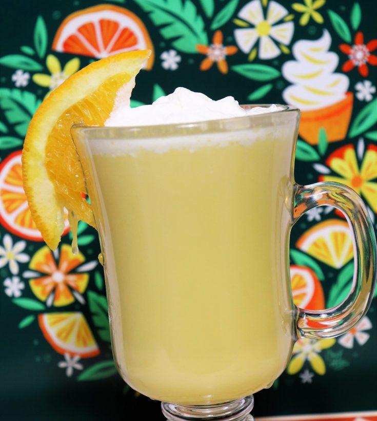 Citrus swirl cocktail