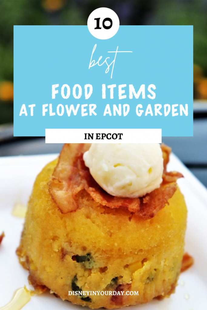 Best Flower and Garden Festival food and drinks