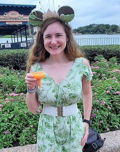 Best Flower and Garden Festival food and drinks - orange wine slushy