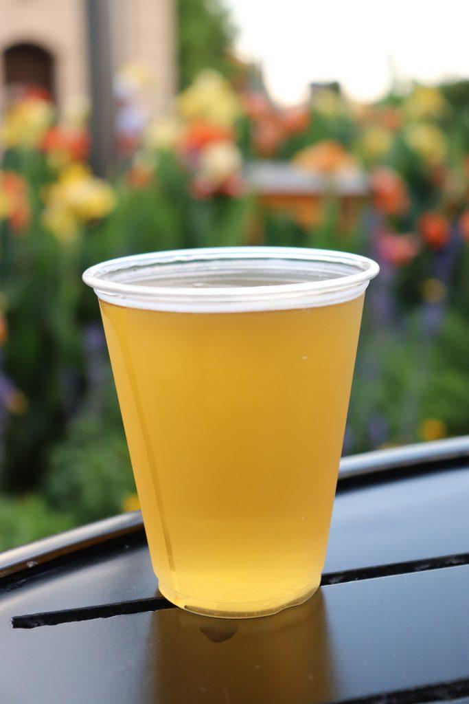 Best Flower and Garden Festival food and drinks - orange coriander wheat ale