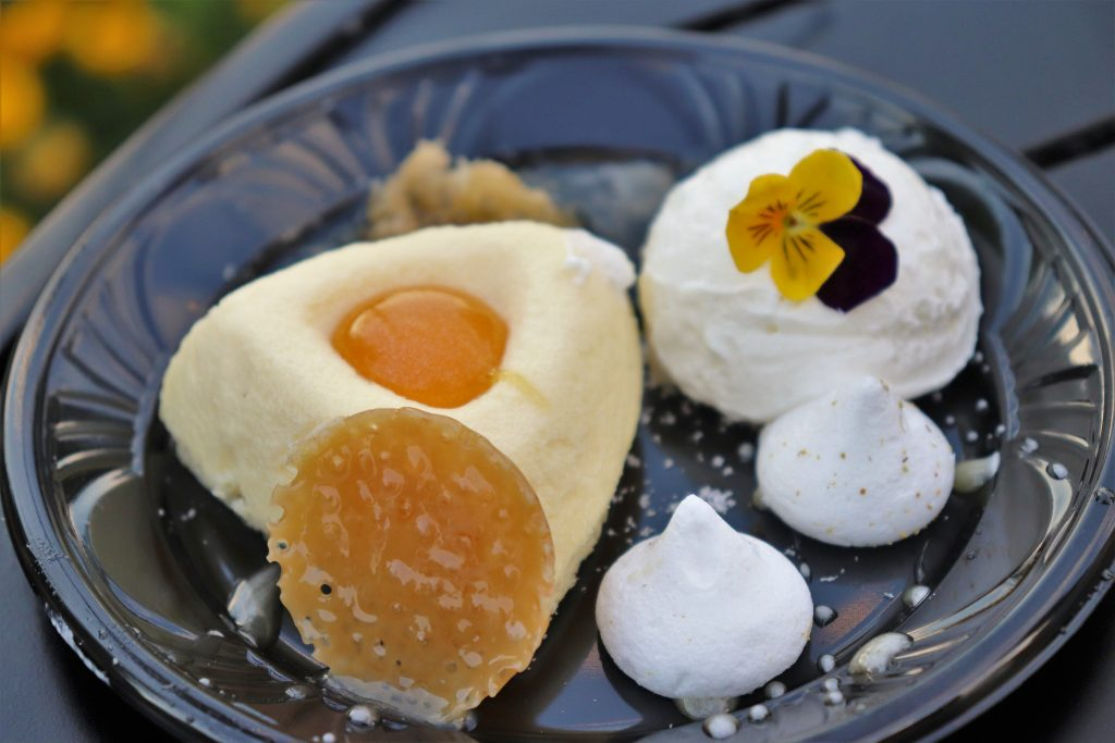 Best Flower and Garden Festival food and drinks - honey cheesecake