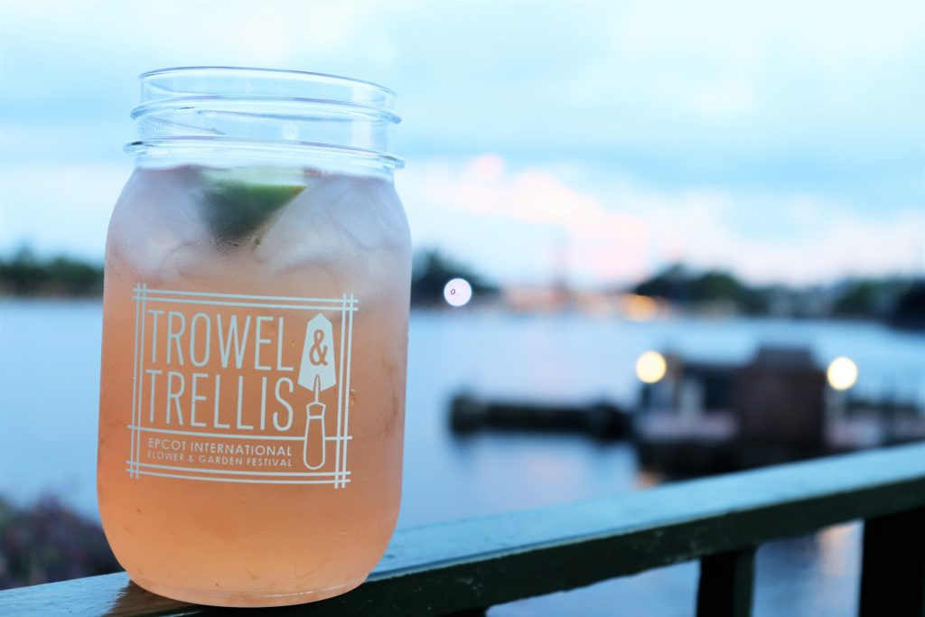 Best Flower and Garden Festival food and drinks - Trowel and Trellis