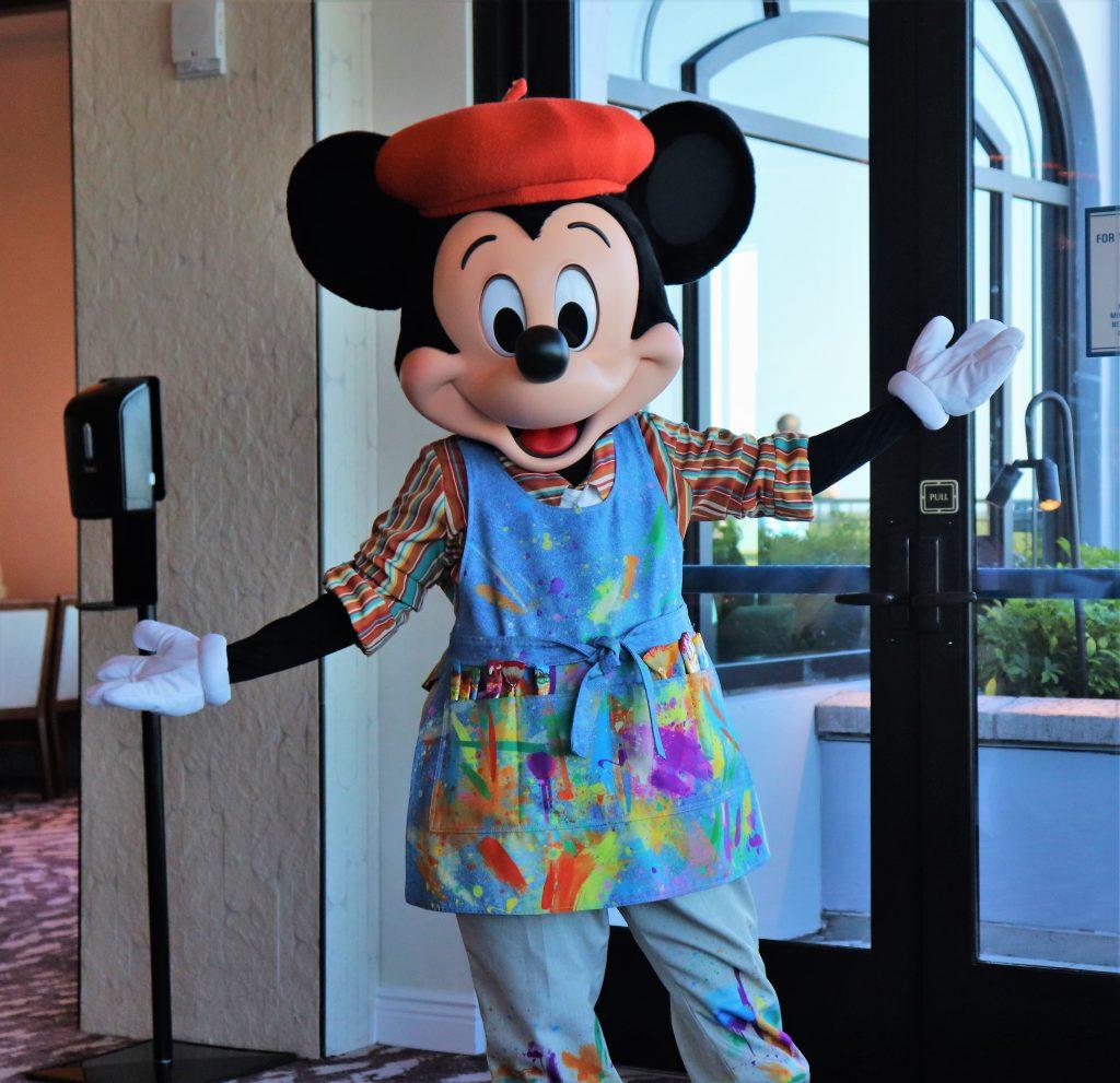 Topolino's Terrace character breakfast - Mickey Mouse