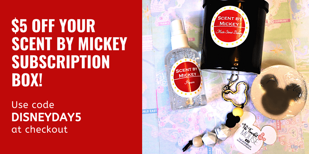 Scent by Mickey subscription box review - Disney in your Day