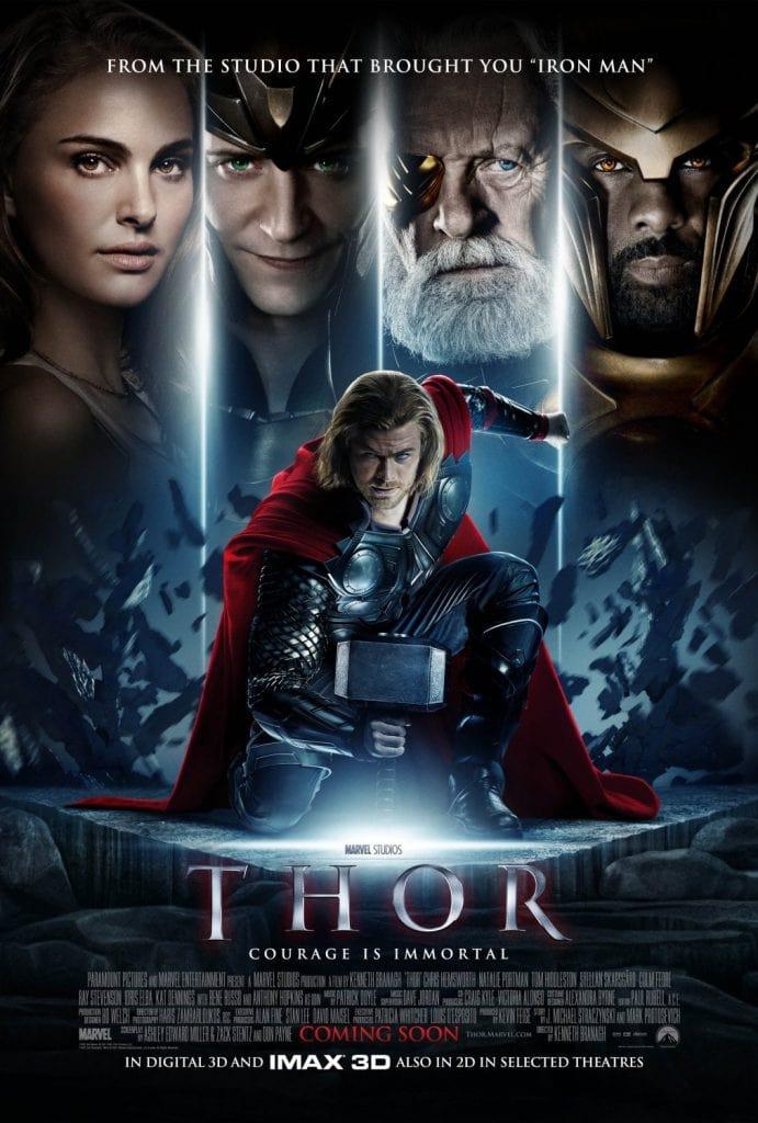 Marvel Movie Marathon: Thor poster - Disney in your Day