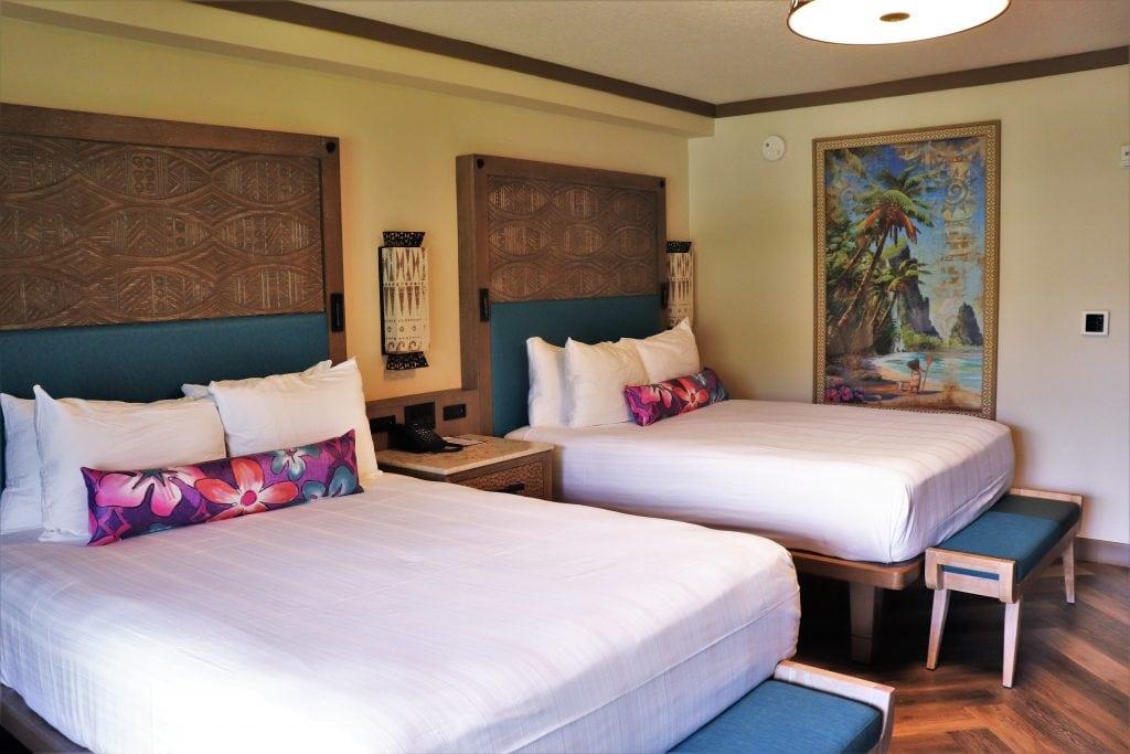 Disney's Polynesian room